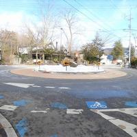 軽井沢のラウンドアバウト