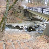 軽井沢 湯川の甌穴(おうけつ)