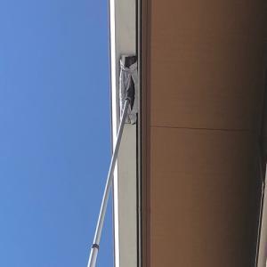 【便利アイテム】高所の窓や樋掃除に大活躍するガラスワイパージャンボ