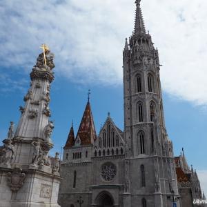ブダペスト&スロヴェニア周遊9 - 聖イシュトバーン大聖堂と模様の洪水マーチャーシュ教会