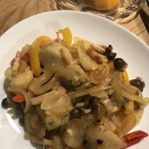 ホットクックで作る夕ごはん24里芋とベーコンの煮物