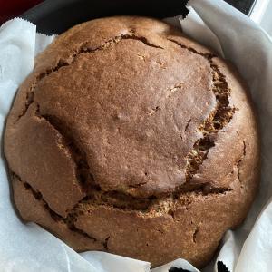 ヘルシオで作るおやつ バナナチョコケーキ