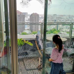 """【自宅でピカソ】""""水拭きで落とせるクレヨン"""" 窓ガラスが広大なキャンパスで想像力大爆発!"""