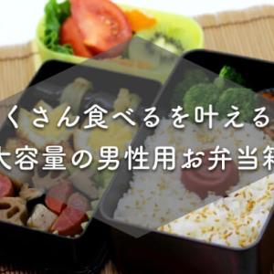 【男性にオススメ】おしゃれでたくさん入る大容量お弁当箱3選