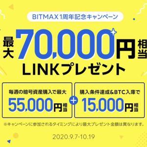 【参加必須】BITMAXの太っ腹すぎキャンペーンで数万円の利益が狙える!!