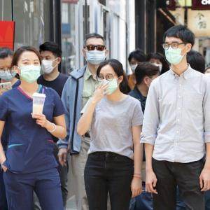 【国際】香港政府は市民に60回まで使用できる香港マスクを配ります。