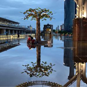 【治水悪】台中駅が浸水→台湾人「なんて美しい、市長の功績だ」