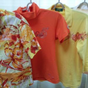 衣服もオレンジ色・黄色が好きだった👕👒