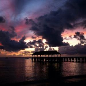 LINEプロフィールハワイの背景用無料画像を配信中
