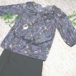 洋服~コーディネート~秋の装い~紫&黒色編 。.:*・° ♫