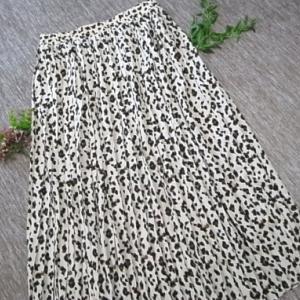 洋服~レオパード柄のスカート&ポニーフック購入~コーデ編 。.:*・° ♫