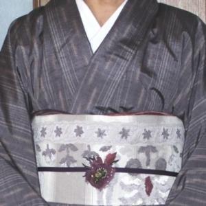 手作りバッグ~紫色紬着物から~バッグ&サブバッグ&ポーチ編 。.:*・° ♫