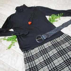 洋服~黒色のニットいろいろ & 丸亀製麺 &クーポン& サーターアンダーギー編 。.:*・° ♫
