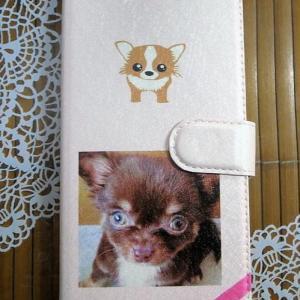 最近のハマリのクリケ&妹に送ったもの~作り直した愛犬の写真のスマホケース編 。.:*・° ♫