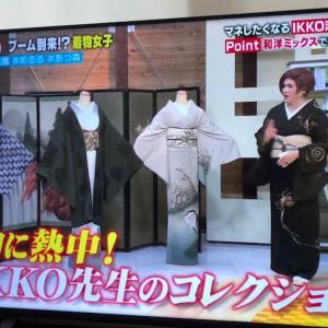 着物コーデ~IKKOさんを見て着物が着たくなった~Wぜんまい紬コーデ編 。.:*・° ♫
