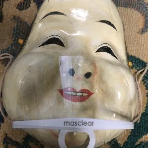 マウスシールドとインナーマスクも使ってみました