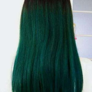 【緑】憧れの派手髪にしてみました!