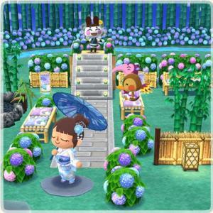 【ポケ森攻略】ガーデンイベント「しずえとあじさいの咲く散歩道」開催中!