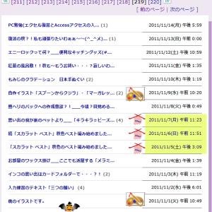 ブログ内MAP[ソーインク編み物]紹介その~8【9/12~10/30】と緊急宣言北海道も解除か