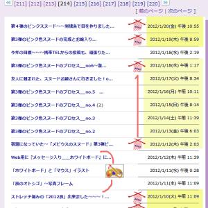 ブログ内MAP[ソーインク編み物]紹介その9【12' 1/9~3/8】と北海道また9人の感染が~