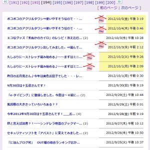 ブログ内MAP[ソーイング・編み物]紹介~その13【2012年7/24 ~ 9/24】