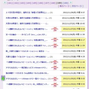 ブログ内MAP[ソーイング・編み物]記事紹介~その14【2012年11/19~2013年1/7】