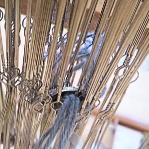今日は「こどもの日]とsaori織りミニマット織ったがミス作品↓以上お疲れさまでした~苦労話で完