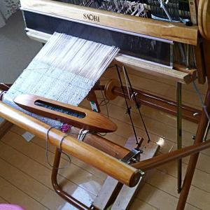小3夏休み自由研究saori織りマット続々々編~さらにババまでが残り糸で織ったマットは?(苦笑)