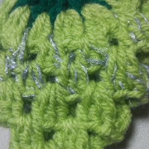 本格的な秋の編み物シ-ズン到来で、キラキラ☆のシャインマスカットを編みたくて♡_no.1