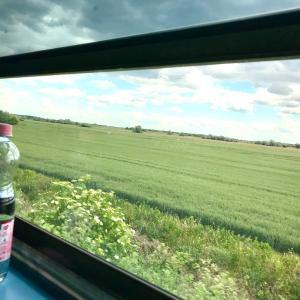 ハンガリーで電車内を覗いてみよう