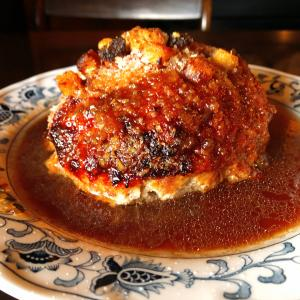 上道駅から車で1分 レストラン ツモロの大きくて有名なハンバーグを、27年振りに堪能して超満腹