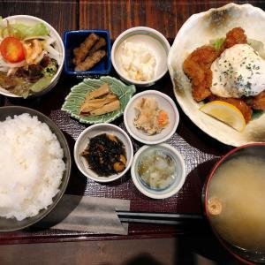 岡山駅から徒歩10分 一歩 のランチは品数多くリーズナブル!チキン南蛮も小鉢も美味しく、超おススメな隠れ家的居酒屋!!