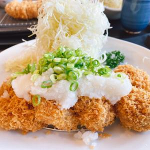 東岡山駅から車で4分【かつ泉(かつせん) 東岡山店】にてランチ!四元豚熟成肉のとんかつは、柔らかくて甘みのある肉汁が溢れ出す!