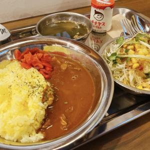 岡山市中区 古民家カフェ 十五喫茶店で初ランチ!素敵な空間で、日替りの表町肉焼処黒場の牛スジカリーをオーダー!