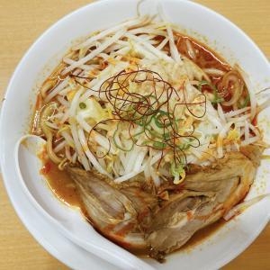 笹沖交差点から車で5分【らーめん食楽(くら)】豚骨の旨味を凝縮したスープと柔らかチャーシューに太麺!魔王の激辛に挑戦!