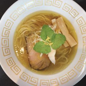 総社市【麺処 おぐら】初訪問は「つけ麺」と迷うも「塩そば」に決定!サイドメニューは夢王を使用したTKG!