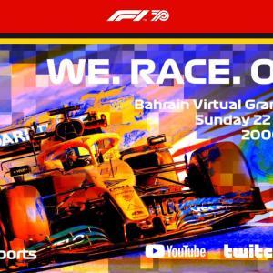【F1 eスポーツ・バーチャル・グランプリ】 DAZNで配信!日程は?現役F1ドライバーがeスポーツで頂点を争う!