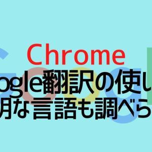 【簡単】Google翻訳の使い方|不明な外国語の言語も調べられる