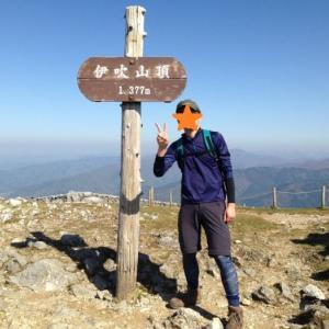 【100名山・伊吹山1377m】子供と登る前の下見ソロ登山