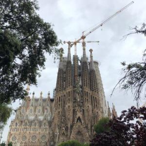 スペイン旅2 雨のバルセロナ観光