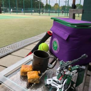 秋の4連休はテニス家族杯。