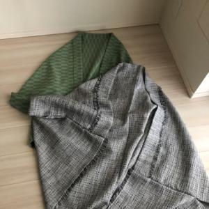 着物や洋装にも、モモンガコートを手作り。
