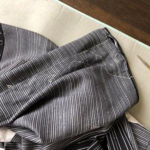 夏絹着物、自分で洗濯後のメンテナンス