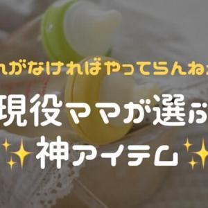 【最新版】育児便利グッズ!現役ママが選ぶ、絶対買うべき神アイテム5選
