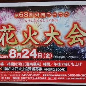 夏の思い出「第68回湘南ひらつか花火大会」でのひとこま