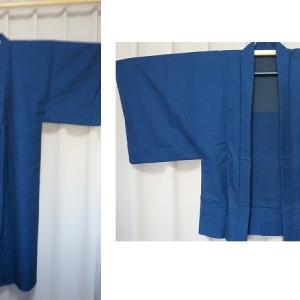 ご夫妻の思い出のお着物から作務衣をお作りしました