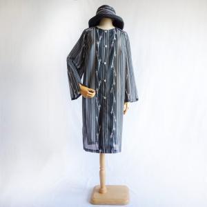 絽の着物リメイク/セミオーダーメイド/帽子・サマーコート・バッグの3点セット制作