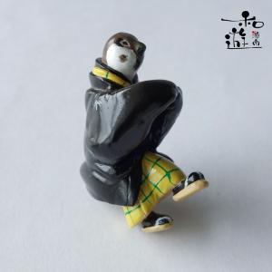 歌川国芳の浮世絵イメージ里すずめねぐらの仮宿/着物雀の和装飾り制作