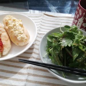 専業主婦のお昼ご飯【素朴なロールパン】でも好き