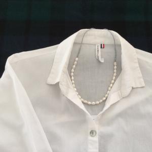 私服の制服化 10月後半② ネックレスをつくってみる